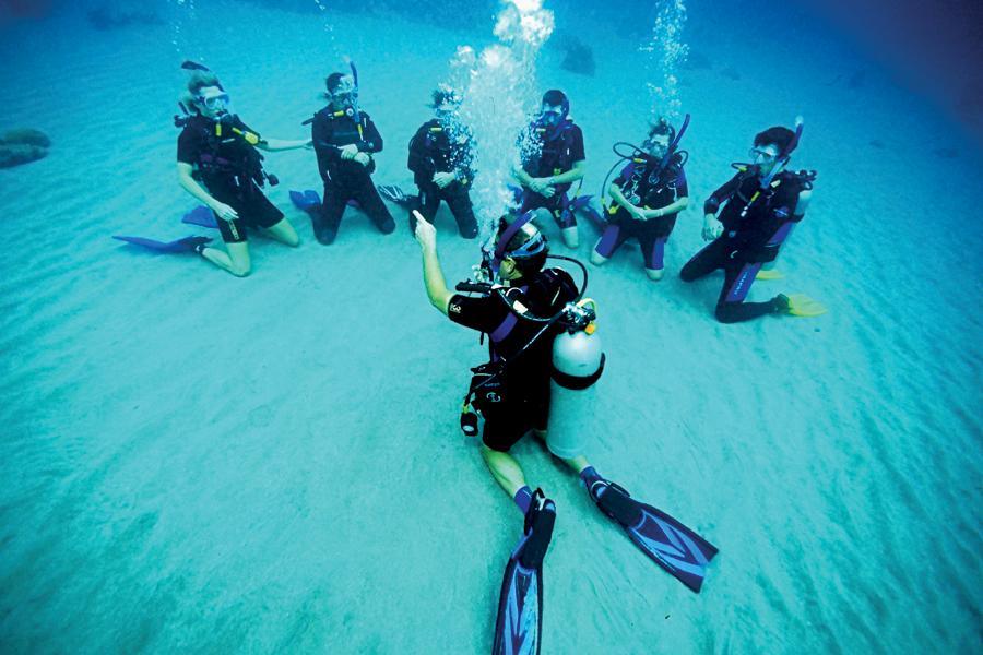 Clase de Open Water Diver